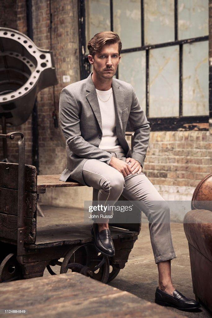 Gwilym Lee, 20th Century Fox, November 1, 2018 : News Photo