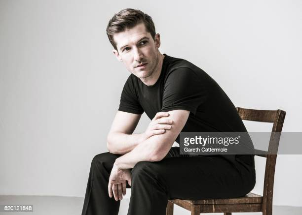 Actor Gwilym Lee is photographed on April 20 2017 in London England