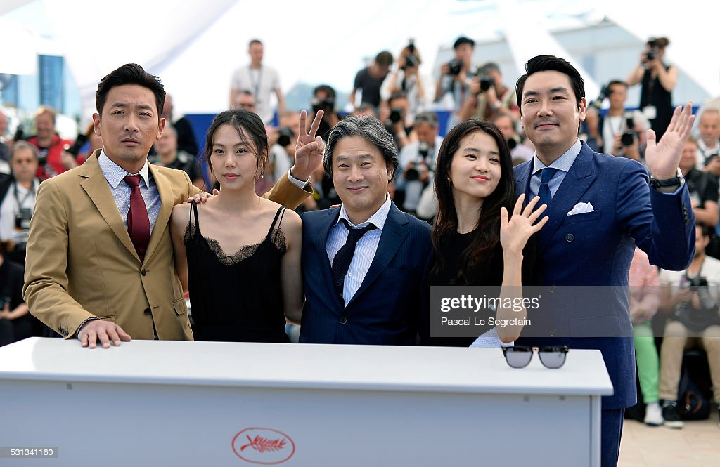 """The Handmaiden "" Photocall - The 69th Annual Cannes Film Festival"