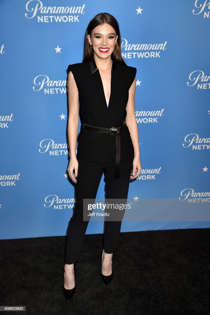Actor Hailee Steinfeld attends Paramount Network launch party at Sunset Tower on January 18, 2018 in Los Angeles, California.