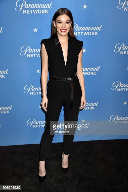 Actor Hailee Steinfeld attends Paramount Network launch party at Sunset Tower on January 18 2018 in Los Angeles California