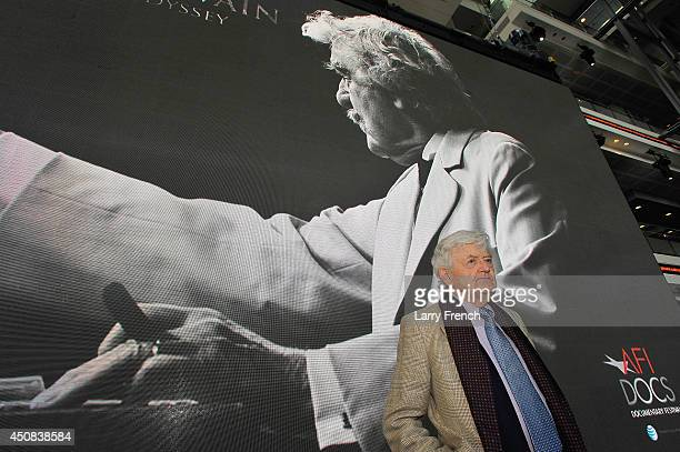Actor Hal Holbrook attends the 2014 AFI Docs opening night gala at The Newseum on June 18 2014 in Washington DC