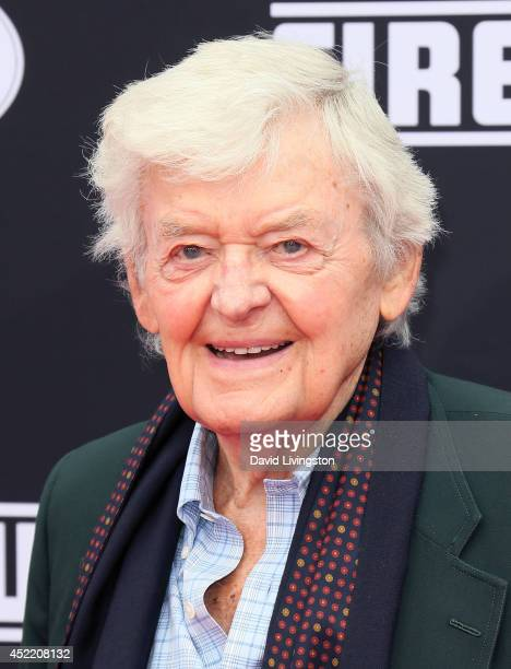 Actor Hal Holbrook attends the premiere of Disney's Planes Fire Rescue at the El Capitan Theatre on July 15 2014 in Hollywood California