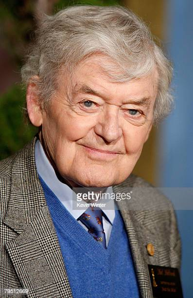 Actor Hal Holbrook poses during the 80th annual Academy Awards nominees luncheon held at the Beverly Hilton Hotel on February 4 2008 in Los Angeles...