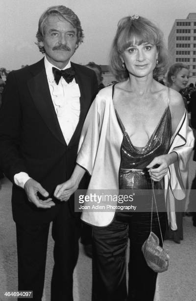 Actor Hal Hollbrook and wife Carol Eve Rossen attend the 30th Annual Emmy Awards on September 17 1978 at the Pasadena Civic Auditorium in Pasadena...
