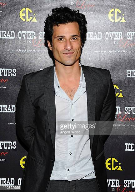 Actor Hal Ozsan arrives at the world premiere of 'Head Over Spurs In Love' at Majestic Crest Theatre on March 24, 2011 in Los Angeles, California.