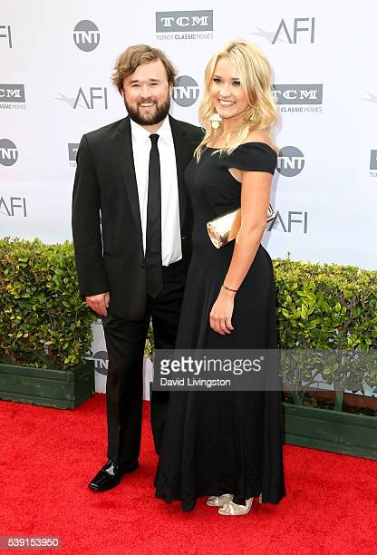 Actor Haley Joel Osment and actress Emily Osment attend American Film Institute's 44th Life Achievement Award Gala Tribute to John Williams at Dolby...