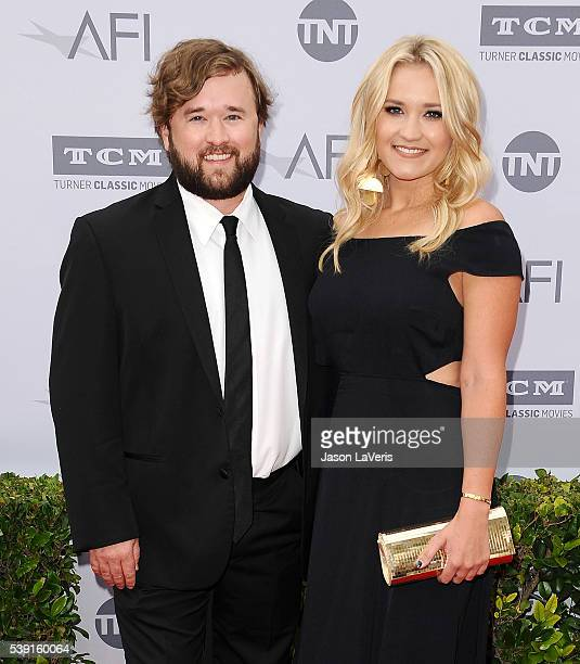 Actor Haley Joel Osment and actress Emily Osment attend the 44th AFI Life Achievement Awards gala tribute at Dolby Theatre on June 9 2016 in...
