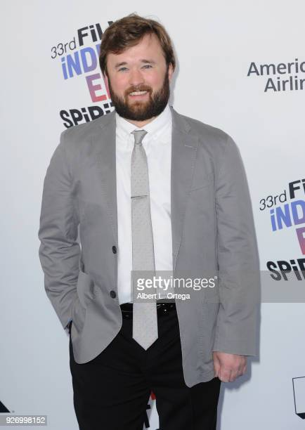 Actor Haley Joel Osment arrives for the 2018 Film Independent Spirit Awards on March 3 2018 in Santa Monica California