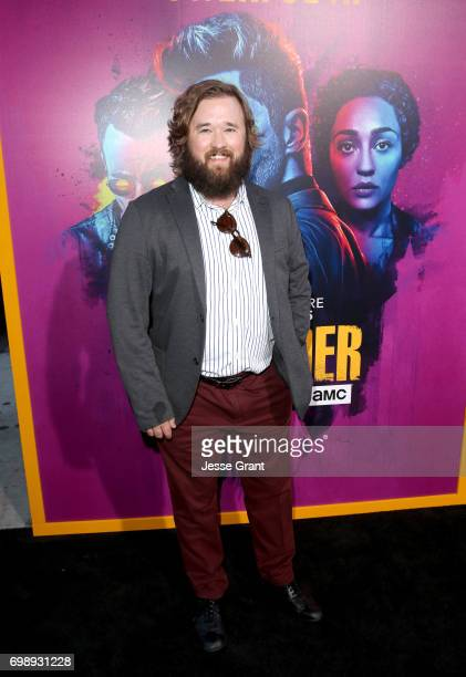 Actor Haley Joel Osment attends AMC's Preacher Season 2 Premiere at the Theater at the Ace Hotel on June 20 2017 in Los Angeles California