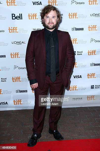 Actor Haley Joel Osment attends the Tusk Premiere during the 2014 Toronto International Film Festival at Ryerson Theatre on September 6 2014 in...
