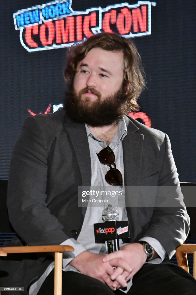Actor Haley Joel Osment participates in Hulu's Future Man panel at New York Comic Con at Jacob Javits Center on October 6, 2017 in New York City.