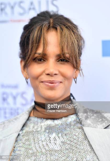 Actor Halle Berry attends the 16th Annual Chrysalis Butterfly Ball at a Private Residence on June 3 2017 in Los Angeles California
