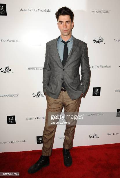 """Actor Hamish Linklater attends the premiere of """"Magic in the Moonlight"""" at Linwood Dunn Theater at the Pickford Center for Motion Study on July 21,..."""