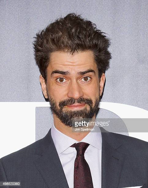 """Actor Hamish Linklater attends the """"The Big Short"""" New York premiere at Ziegfeld Theater on November 23, 2015 in New York City."""