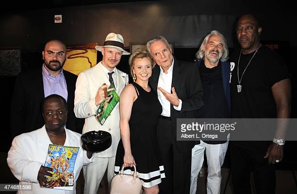 Actor Hamzah Saman, actor Selwyn Emerson Miller, director Tom Six, actress Bree Olsen, actor Dieter Laser, actor Peter Blankenstein and actor Tommy...