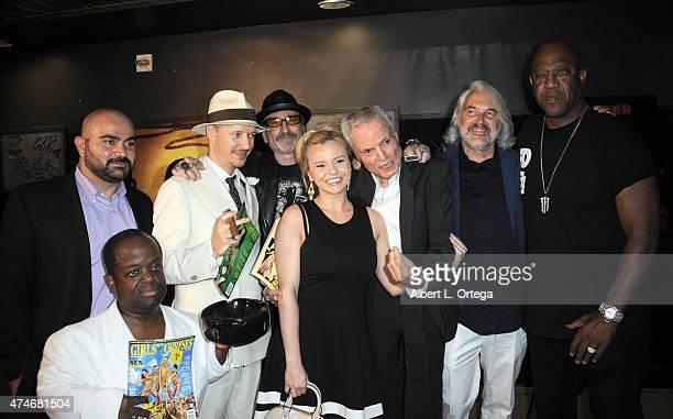 Actor Hamzah Saman, actor Selwyn Emerson Miller, director Tom Six, publisher Robert Rhine, actress Bree Olsen, actor Dieter Laser, actor Peter...