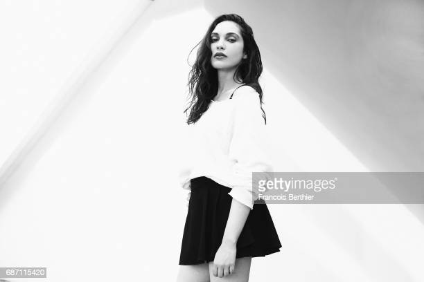 Actor Hania Amar is photographed on May 22 2017 in Cannes France