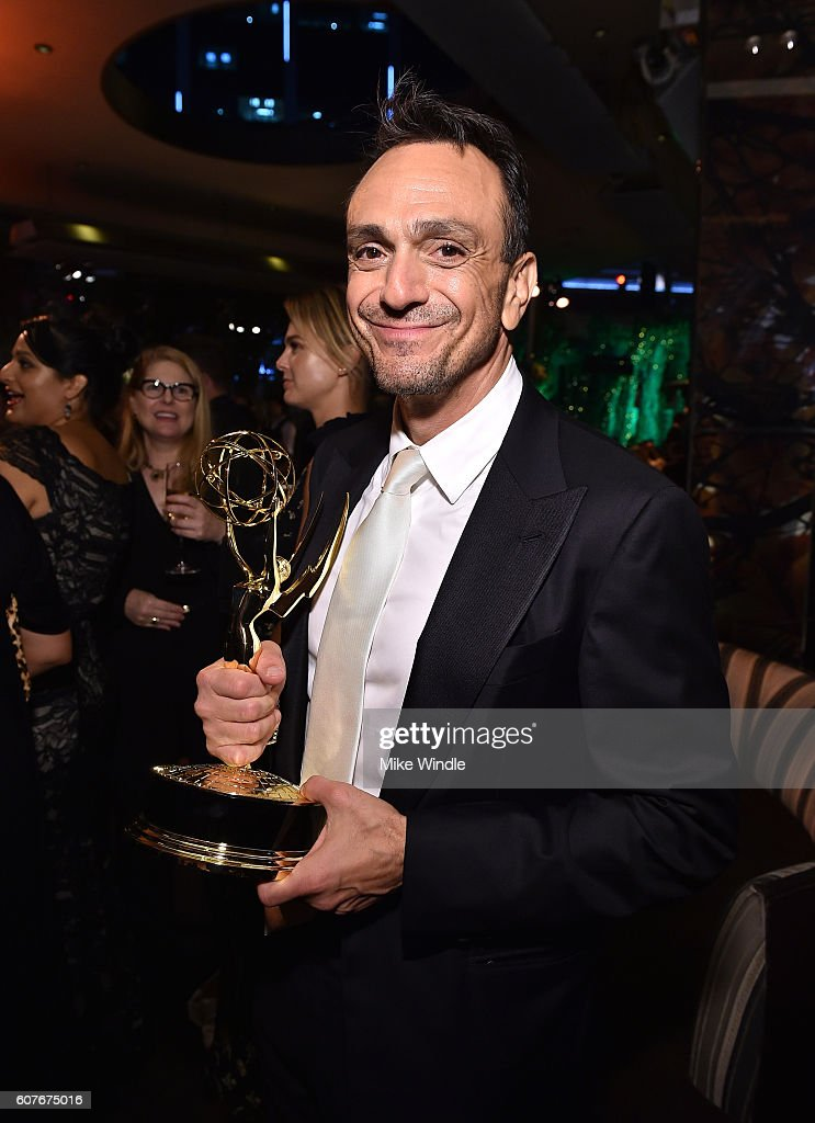 Actor Hank Azaria attends AMC Networks Emmy Party at BOA Steakhouse on September 18, 2016 in West Hollywood, California.