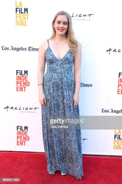 Actor Hannah Barlow attends the screening of 'Episodes Indie Series from the Web' during the 2017 Los Angeles Film Festival at Arclight Cinemas...