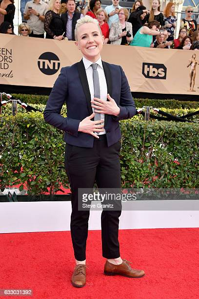 Actor Hannah Hart attends the 23rd Annual Screen Actors Guild Awards at The Shrine Expo Hall on January 29 2017 in Los Angeles California