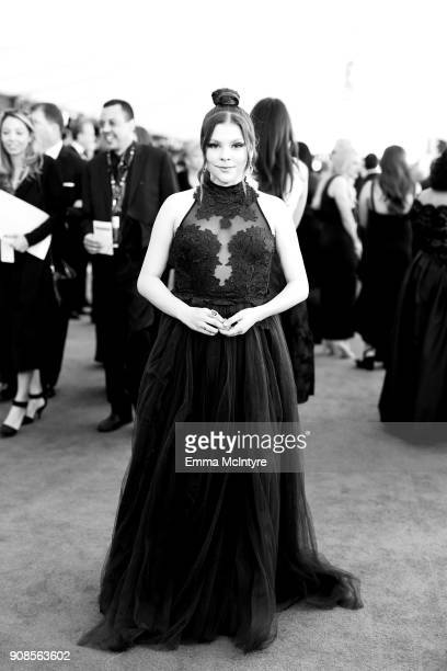 Actor Hannah Zeile attends the 24th Annual Screen Actors Guild Awards at The Shrine Auditorium on January 21 2018 in Los Angeles California 27522_011