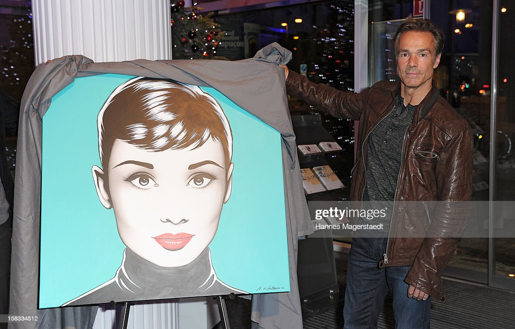 Actor Hannes Jaenicke attends the BMW Adventskalender opening at the BMW Pavillion on December 13, 2012 in Munich, Germany.
