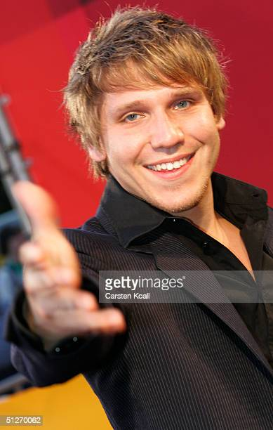 Actor Hanno Koffler attends the premiere of new German film Kleinruppin Forever at Cinema Kosmos September 7 2004 in Berlin Germany