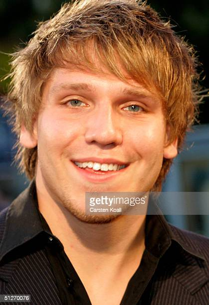 Actor Hanno Koffler attends the premiere of the new German film Kleinruppin Forever at Cinema Kosmos September 7 2004 in Berlin Germany