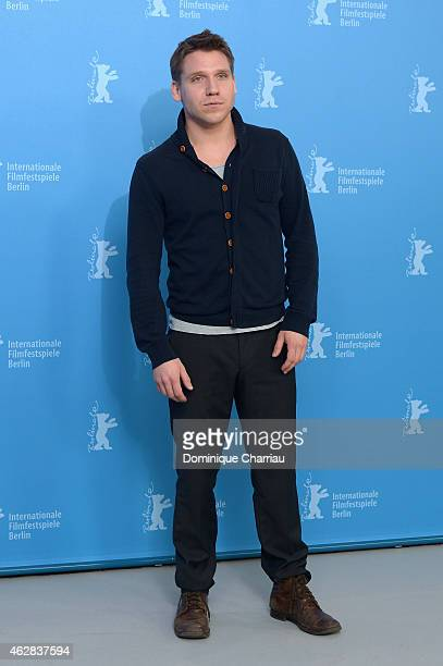 Actor Hanno Koffler attends the 'Tough Love' photocall during the 65th Berlinale International Film Festival at Grand Hyatt Hotel on February 6 2015...