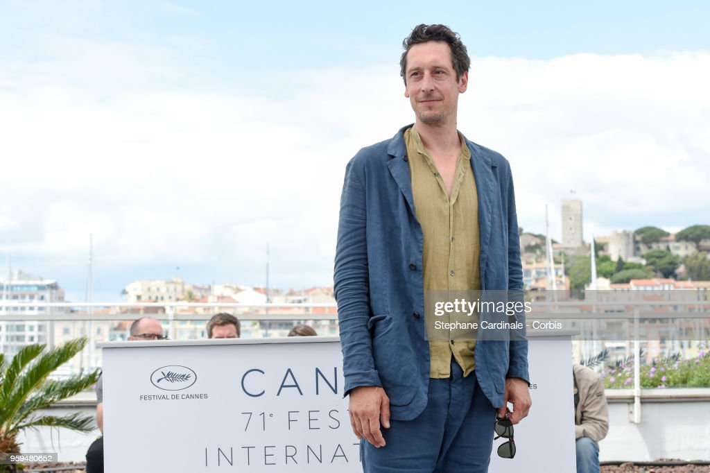 Actor Hans Loew attends 'In My Room' Photocall during the 71st annual Cannes Film Festival at Palais des Festivals on May 17, 2018 in Cannes, France.