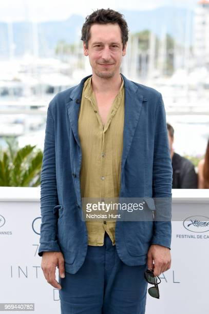Actor Hans Low attends the 'In My Room' Photocall during the 71st annual Cannes Film Festival at Palais des Festivals on May 17 2018 in Cannes France