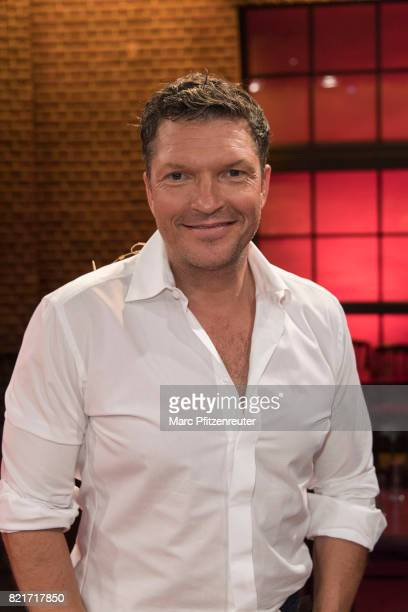 Actor Hardy Krueger Jr attends the 'Koelner Sommer Treff' TV Show at the WDR Studio on July 24 2017 in Cologne Germany