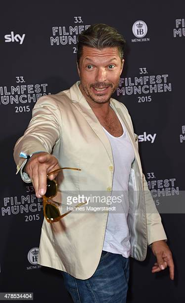 Actor Hardy Krueger jr attends the Opening Night of the Munich Film Festival 2015 at Mathaeser Filmpalast on June 25 2015 in Munich Germany