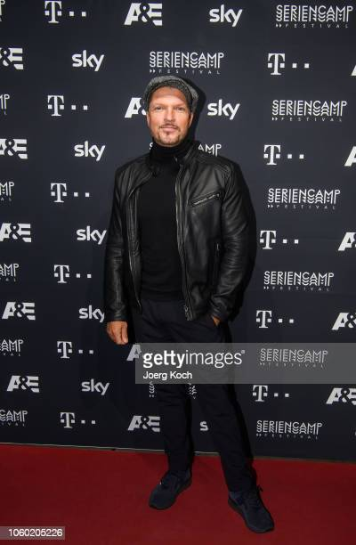 Actor Hardy Krueger jr attends the world premiere of the new documentary 'Total Control Im Bann der Seelenfaenger' by German TV channel AE during the...