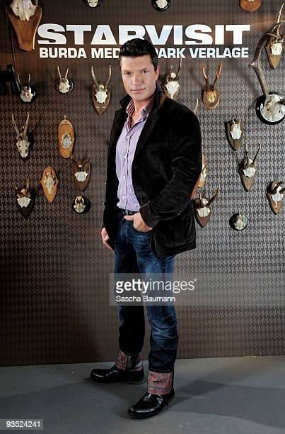 Actor Hardy Krueger Junior attends the STARVISIT at the Burda Medien Park Verlage on December 1 2009 in Offenburg Germany