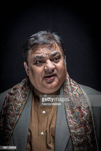 Actor Harish Patel is photographed for Self Assignment on February 10, 2013 in Berlin, Germany.