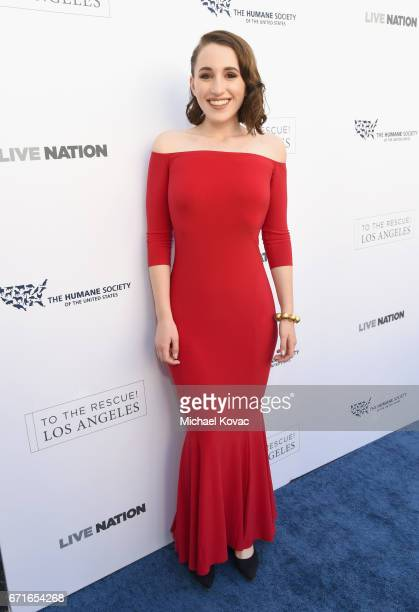 Actor Harley Quinn Smith at The Humane Society of the United States' To the Rescue Los Angeles Gala at Paramount Studios on April 22 2017 in...