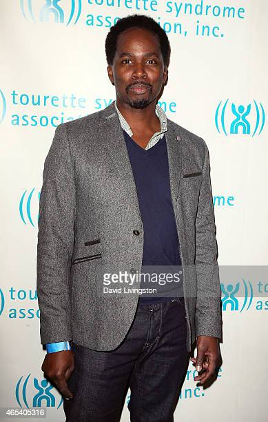 Actor Harold Perrineau attends the 2nd Annual Hollywood Heals Spotlight On Tourette Syndrome at House of Blues Sunset Strip on March 5 2015 in West...