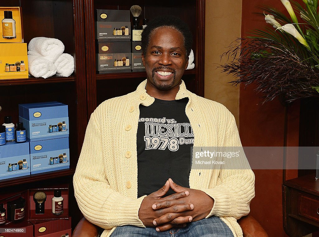 Actor Harold Perrineau attends The Art of Shaving And Bungalow 8 Pre-Oscar Party at Petit Ermitage Hotel on February 20, 2013 in West Hollywood, California.