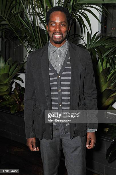 Actor Harold Perrineau Jr attends Jeremy Renner's and Kristoffer Winters' celebration of the launch of Robb Report Home Style on June 6 2013 in Los...
