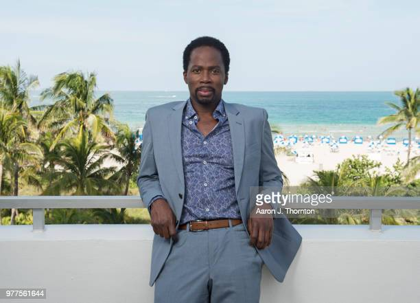 Actor Harold Perrineau poses for a portrait during the 22nd Annual American Black Film Festival at the Loews Miami Beach Hotel on June 16 2018 in...