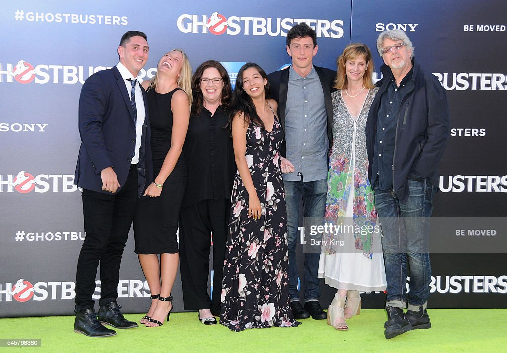 Actor Harold Ramis's family attend the premiere of Sony Pictures' 'Ghostbusters' at TCL Chinese Theatre on July 9, 2016 in Hollywood, California.