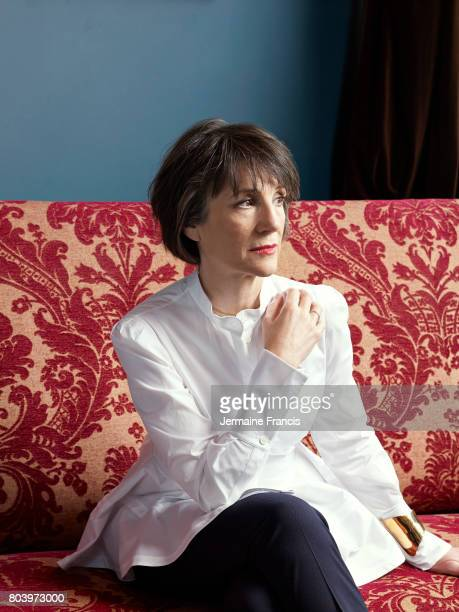 Actor Harriet Walter is photographed for Porter magazine on July 12 2014 in London England