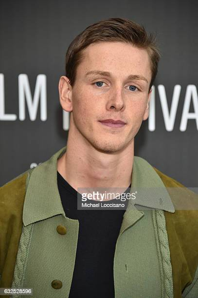 Actor Harris Dickinson attends the Beach Rats Premiere at Eccles Center Theatre on January 23 2017 in Park City Utah