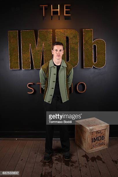 Actor Harris Dickinson of Beach Rats attends The IMDb Studio featuring the Filmmaker Discovery Lounge presented by Amazon Video Direct Day Four...