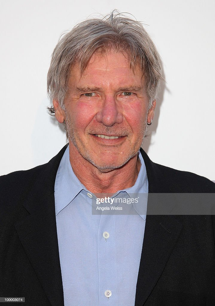 Actor Harrison Ford arrives at St. Jude's 30th anniversary screening of 'The Empire Strikes Back' at Arclight Cinema on May 19, 2010 in Los Angeles, California.