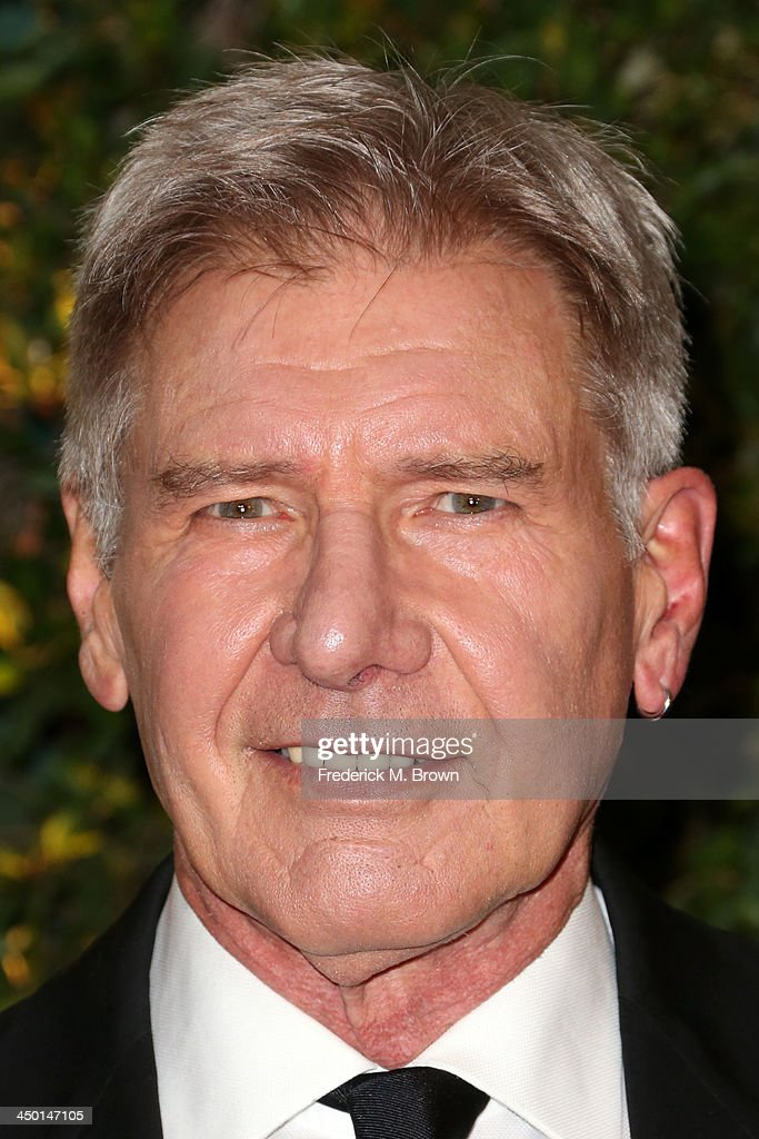 Actor Harrison Ford arrives at the Academy of Motion Picture Arts and Sciences' Governors Awards at The Ray Dolby Ballroom at Hollywood & Highland Center on November 16, 2013 in Hollywood, California.