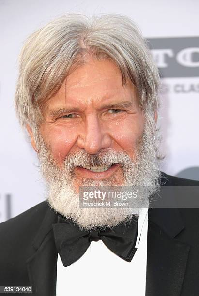 Actor Harrison Ford arrives at the American Film Institute's 44th Life Achievement Award Gala Tribute to John Williams at Dolby Theatre on June 9,...