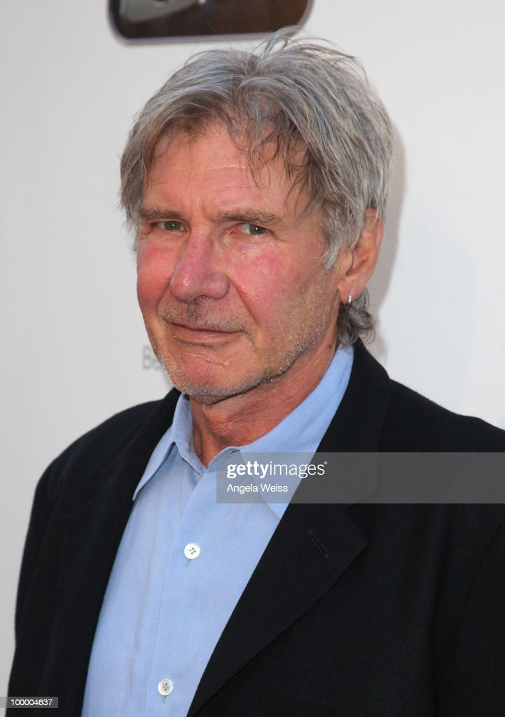 Actor Harrison Ford arrives to St. Jude's 30th anniversary screening of 'The Empire Strikes Back' at Arclight Cinema on May 19, 2010 in Los Angeles, California.